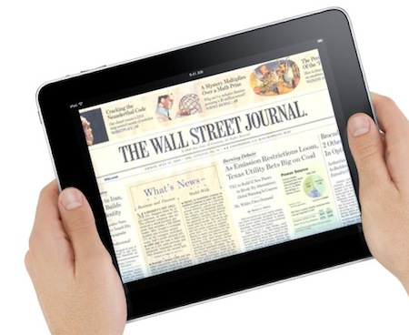 iPad WallStreetJournal 001 Tim Cook presente alla conferenza di Ottobre del Wall Street Journal