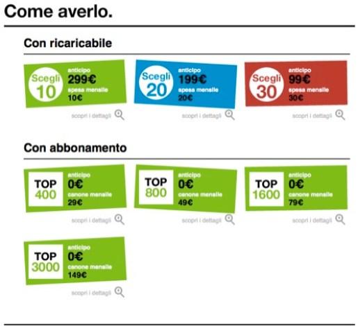 16GB iPhone4 tre Tre Italia ufficializza le tariffe per liPhone 4, il modello da 16GB a 0€