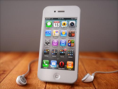iPhone4 white 0001 Digitimes: Oltre 40 milioni di iPhone 4 venduti da Apple nel 2010