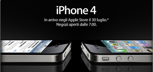 iphone4vendita IPhone 4 in Italia, debacle o successo?