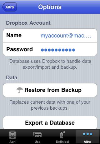 testing02 In arrivo la versione Mac di iDatabase