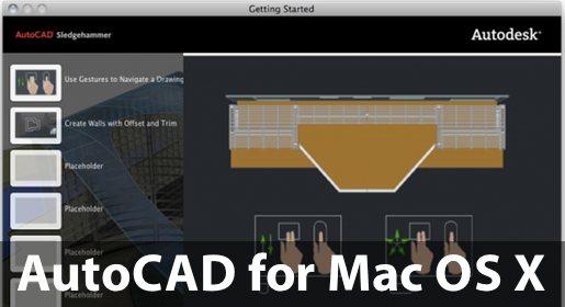 autocadmacosx Ottobre porterà AutoCAD su Mac.