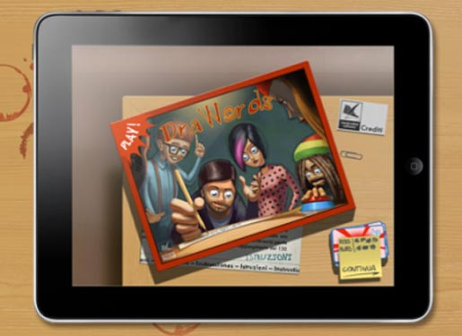 drawords DraWords: sfida gli amici disegnando con iPad e tira fuori lartista che cè in te!