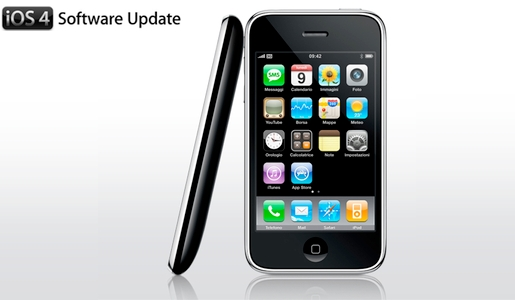 iphone ios4 Jobs: in arrivo un software update per iPhone 3G con iOS4