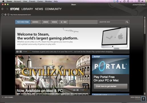steam Steam, i Mac gamers sono in calo (solo il 5% degli abbonati)