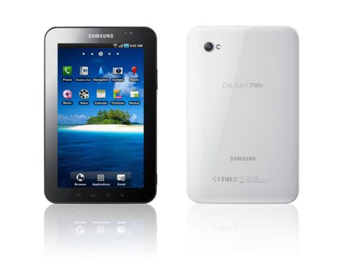 GalaxyTab 00011 500x395 Presentato il Galaxy Tab con Android 2.2, Samsung lancia la sfida all'iPad di Apple