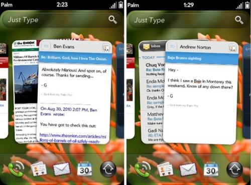 webOS 2.0beta 001 500x369 WebOS 2.0 è disponibile in versione beta per gli sviluppatori, ecco la prima schermata