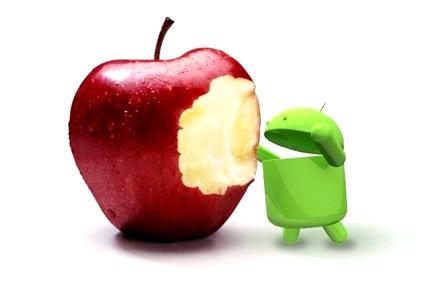 ios vs android 001 Google e RIM rispondono alle considerazioni fatte da Steve Jobs durante la presentazione dei risultati finanziari