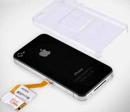 iphone4 sim 001 Il prossimo iPhone potrebbe avere la SIM hardware universale integrata direttamente nel telefono