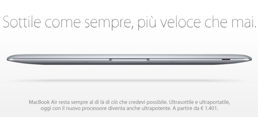 macbook air MacBook Air, finalmente vicini ad un aggiornamento?