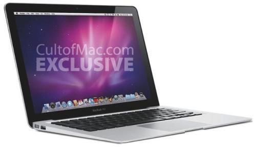 macbookair116 001 500x287 Engadget: Confermato il nuovo MacBook Air da 11,6 con cpu Intel Core 2 Duo, GeForce 9400M e funzionalità Instant On