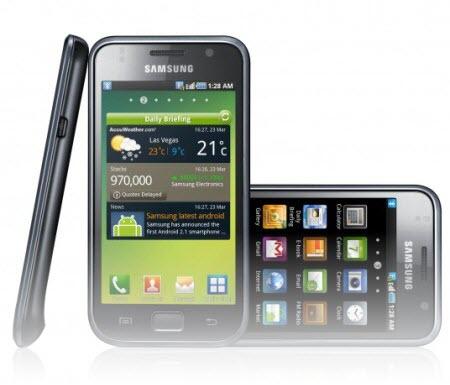 Samsung GalaxyS 001 Il Samsung Galaxy S registra 9,3 milioni di esemplari venduti