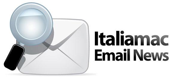 email Le news di Italiamac via email
