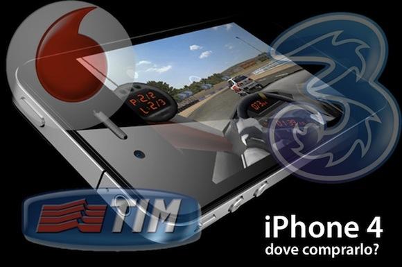 iphone4 dove comprarlo Inchiesta iPhone 4: Prezzi e tariffe degli operatori a confronto