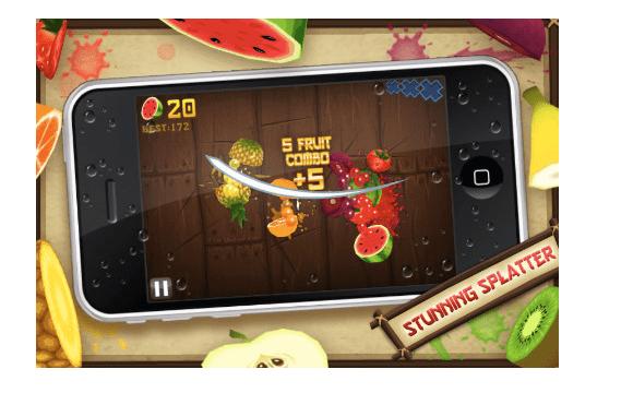 Schermata 2011 01 11 a 21.18.29 Taglia la frutta con Fruit Ninja
