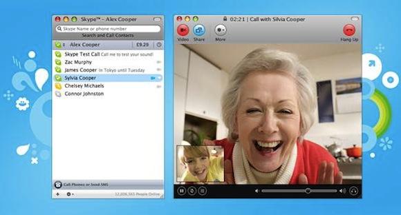 Skype 5 Mac  Skype lancia la videochiamata di gruppo a pagamento