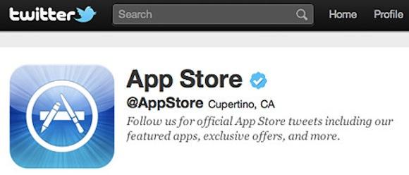app store twitter @App Store su Twitter, per seguire le ultime novità