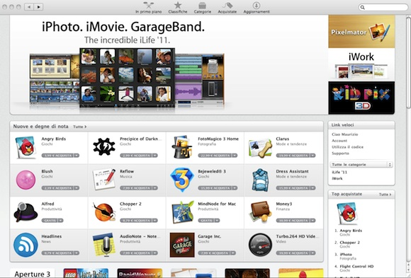 appstore1 Mac App Store: uno sguardo più da vicino