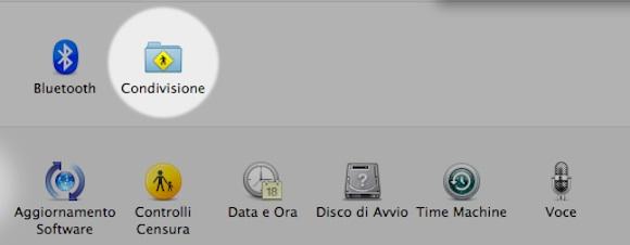 condivisione0 Mac OS X: Come trasformare il nostro Mac in un punto di accesso Wi Fi