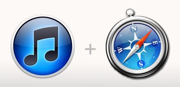 itunesafari iTunes potrebbe fondersi con Safari e divenire ununica applicazione web