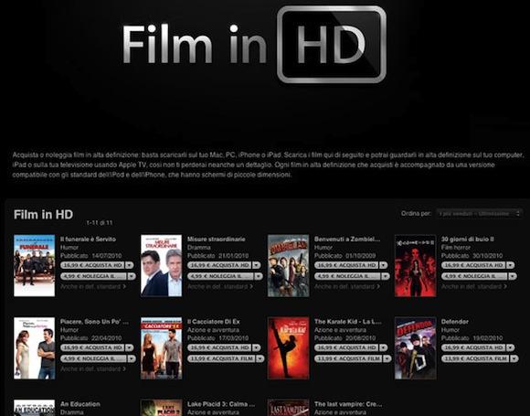 itunesfilm Nuovi contenuti extra in iTunes Film per Sony