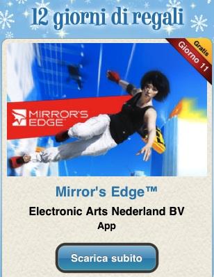 mirror 12 giorni di regali: Mirrors Edge di EA