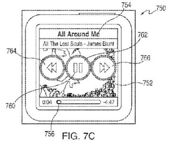 nanopatentlg 01 Trovato brevetto Apple: nuove gesture per iPod nano
