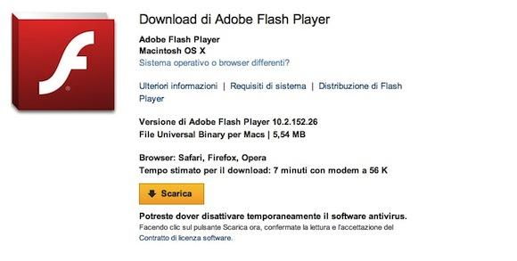 adobe Adobe Flash Player: Disponibile la versione finale 10.2 per Mac