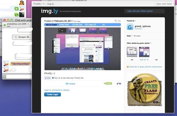 gr3k 9 20110225 20188 Mac OS X Lion: iChat supporta Yahoo! IM, ha un menu stile iOS e nuove funzionalità di anteprima