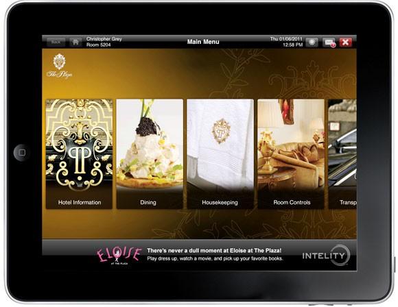 plaza ice touch on ipad 580cs020211 1296668560 Il Plaza di New York ha dotato di iPad tutte le camere e le suite