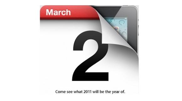 screen capture 1 È ufficiale: Apple presenterà iPad 2 il 2 marzo