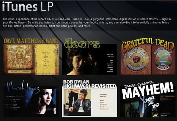 LP Musica: su iPad disponibili i primi contenuti extra simili ad iTunes LP