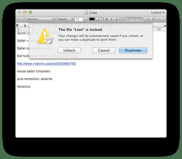 Screen Shot 2011 02 26 at 3.37.42 AM Mac OS X Lion: Versions e Auto Save semplificano le procedure di salvataggio dei documenti