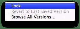 Screen Shot 2011 02 26 at 4.07.46 PM Mac OS X Lion: Versions e Auto Save semplificano le procedure di salvataggio dei documenti