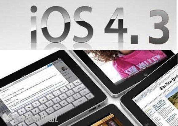 ios43 thumb 450x320 450x320 iOS 4.3: possibile uscita anticipata rispetto a quanto dichiarato da Steve Jobs