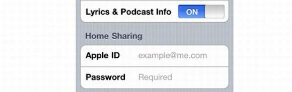 ios43homesharing iOS 4.3 e la Condivisione in Famiglia
