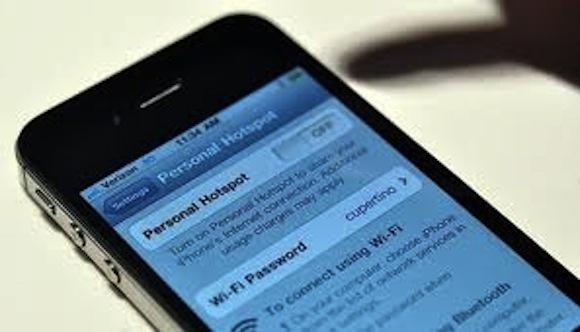 %name Personal Hotspot limitata a tre dispositivi con connessione Wi Fi