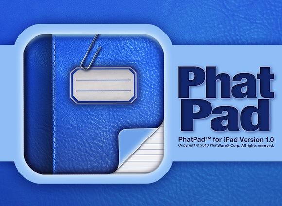 phatpad horiz2 PhatPad per iPad: memorizzare note e figure attraverso il riconoscimento della scrittura