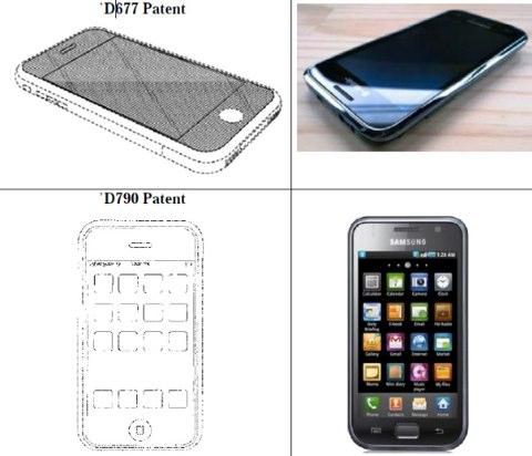 brevetti Apple vs Samsung Galaxy Apple fa causa a Samsung per aver violato dei brevetti nella realizzazione della linea Galaxy