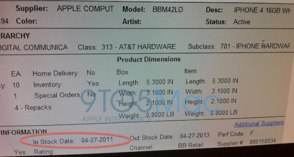 launcdate 580x310 Il 27 Aprile sembra essere realmente la data di lancio delliPhone 4 bianco