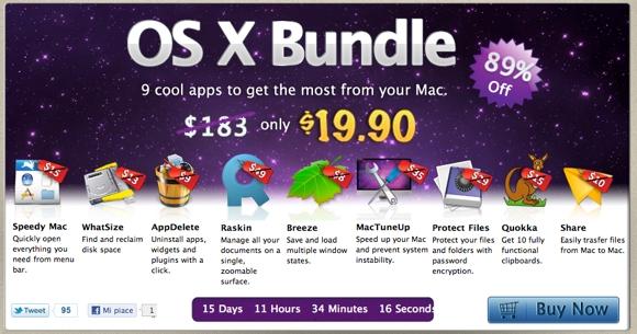 macbundlepro MacBundlePro, 9 applicazioni a meno di 20 dollari