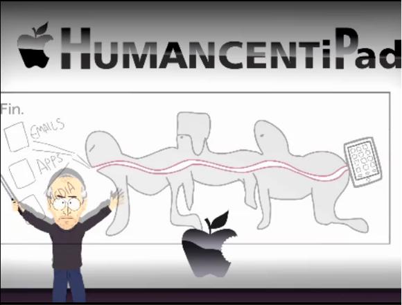 HumanCentiPad Nuova parodia su South Park! Rischiamo di diventare HumanCentiPad!