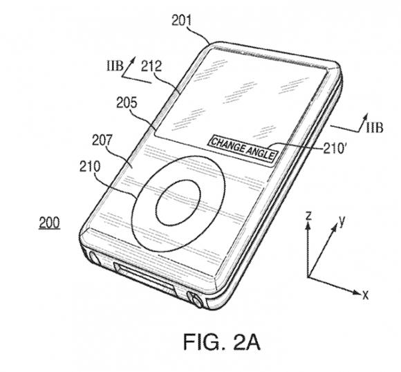 Patent1 Nuovo privacy display studiato da Apple
