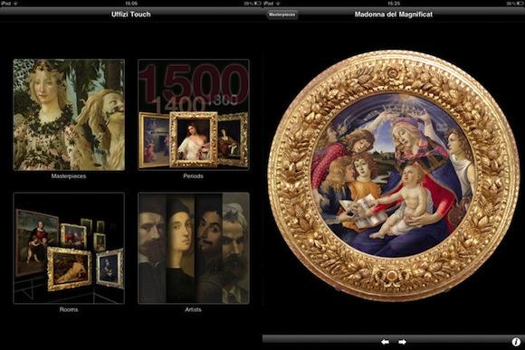 Uffizi 2nd Con Uffizi Touch l'arte entra a casa nostra