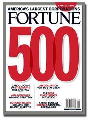 fortune 500 logo Apple continua a scalare la classifica di Fortune 500
