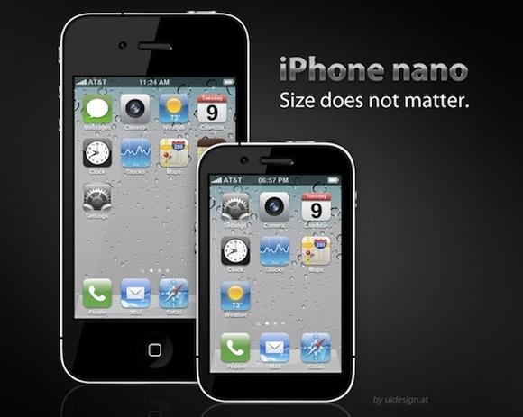 iPhoneNanoConcept Tempo di iPhone nano nel 2012?