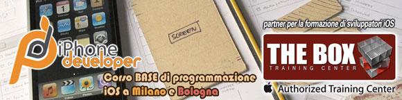 iphonedeveloper iPhone Developer, corso base di programmazione iOS a Milano e Bologna