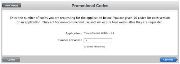 itunes promo request Cambiano le regole sui codici promozionali Apple
