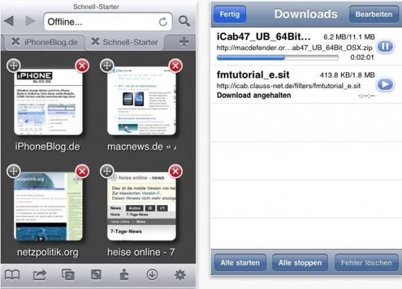 Cattura3 580x417 iCab Mobile: browser per iOS con molte funzioni