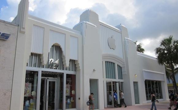 Miami Beach Lincoln Mall Retro Apple Store Apple progetta lavori di ristrutturazione per gli Store delle Hawaii e di Miami
